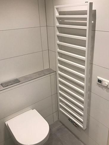 Toilet en verwarming