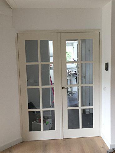 Openslaande deuren geplaatst